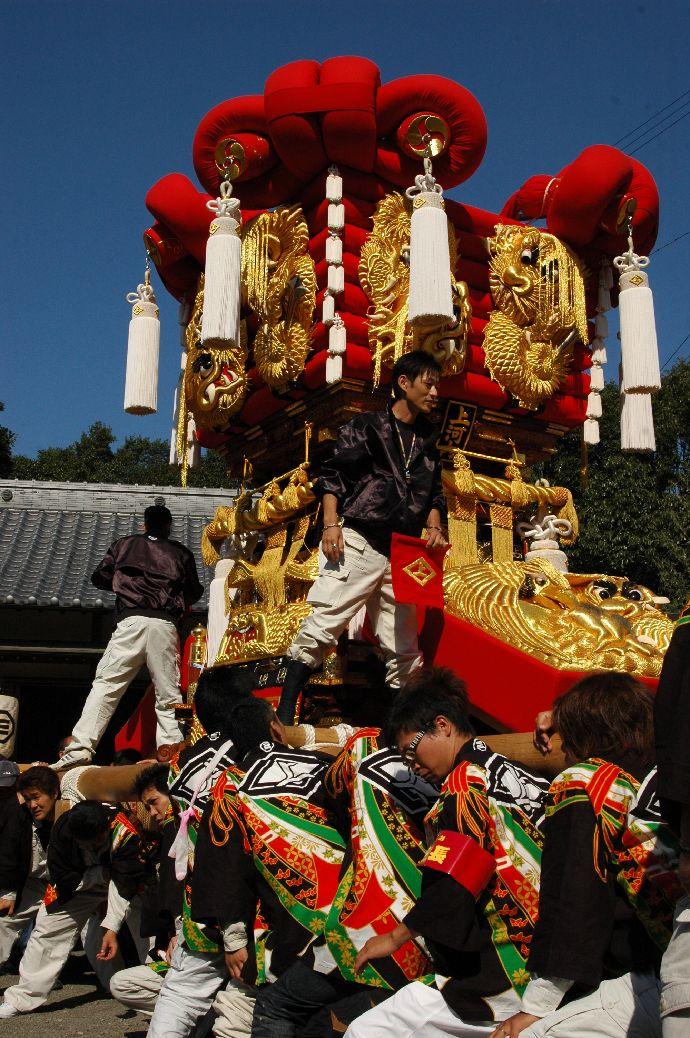 山本町「ちょうさ」秋祭り 036