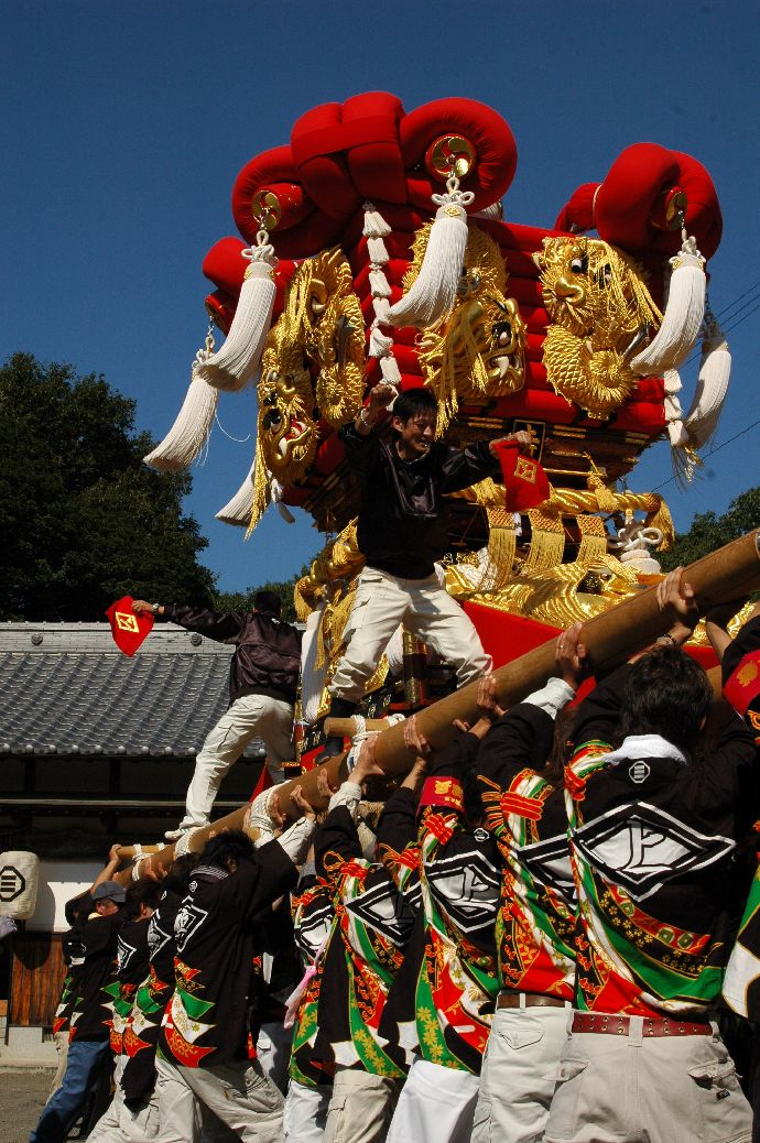 山本町「ちょうさ」秋祭り 040