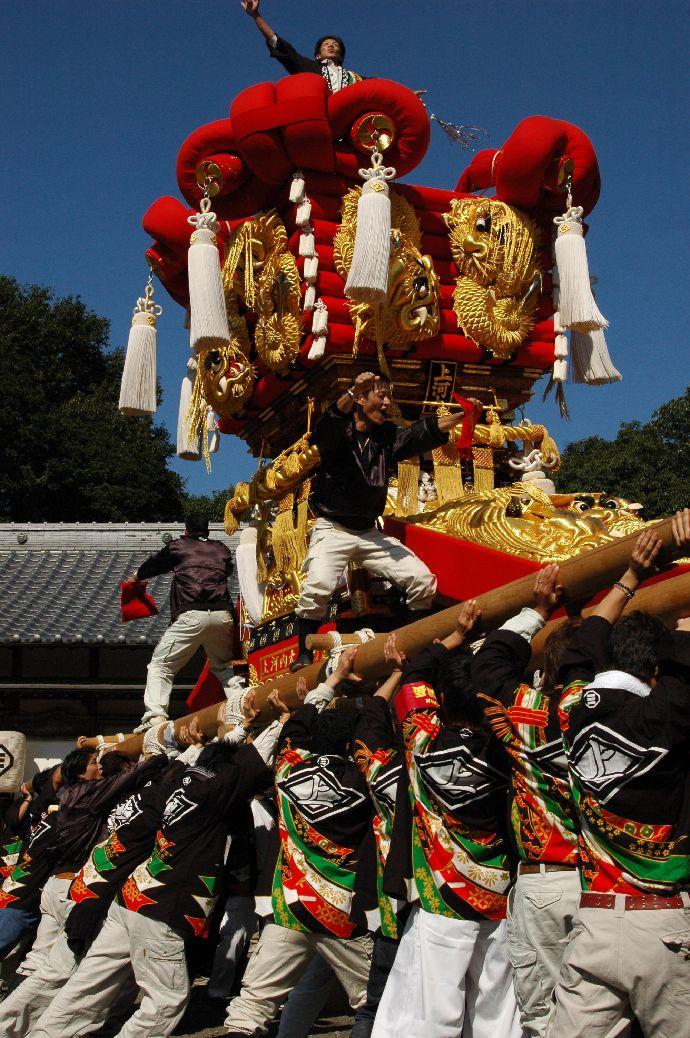 山本町「ちょうさ」秋祭り 041