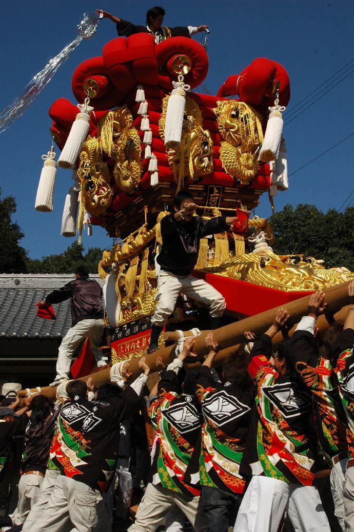 山本町「ちょうさ」秋祭り 042