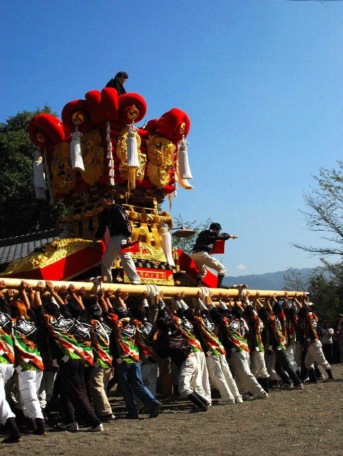 山本町「ちょうさ」秋祭り 054