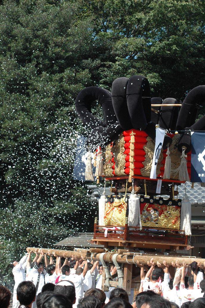 山本町「ちょうさ」秋祭り 071