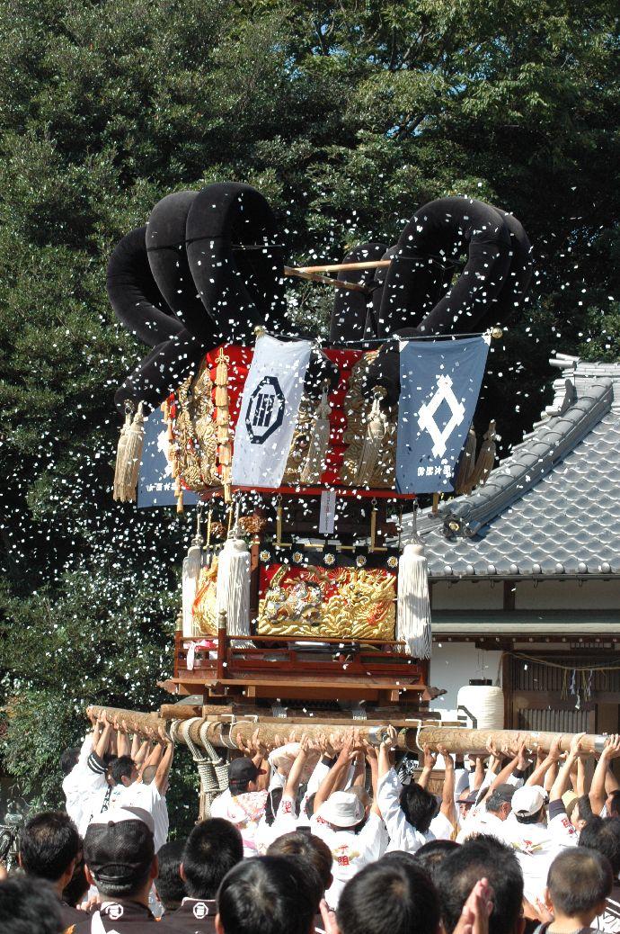 山本町「ちょうさ」秋祭り 067