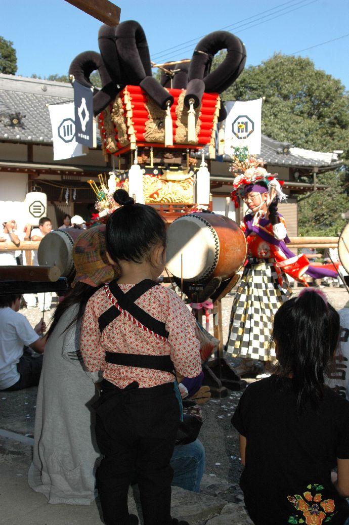 山本町「ちょうさ」秋祭り 124