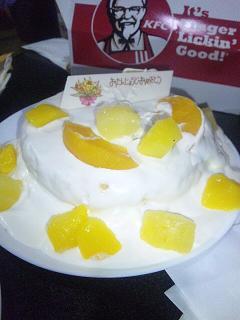 バースディケーキ2011