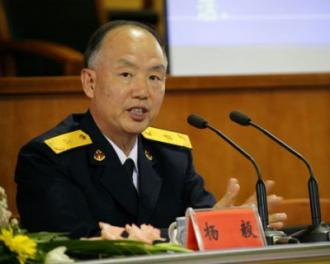 国防大学教授、#26472;毅海#20891;少将