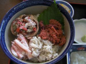 セイコカニ丼300