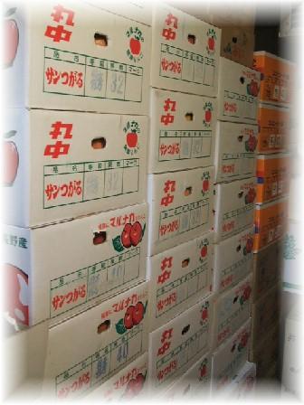 りんご・冷蔵庫