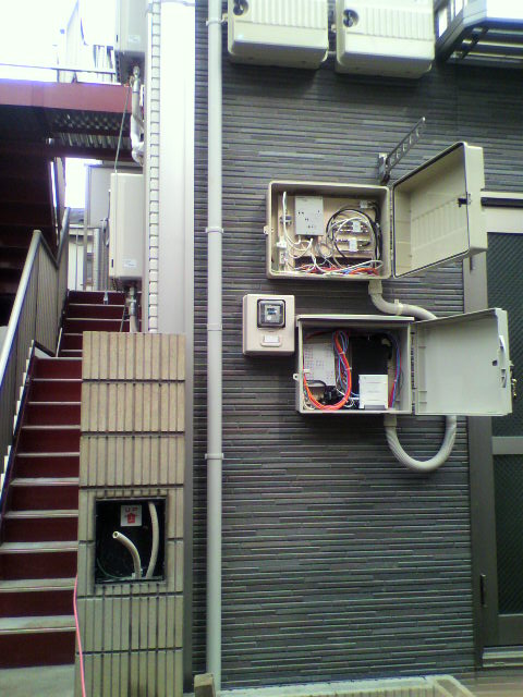 東京品川15室アパートインターネット