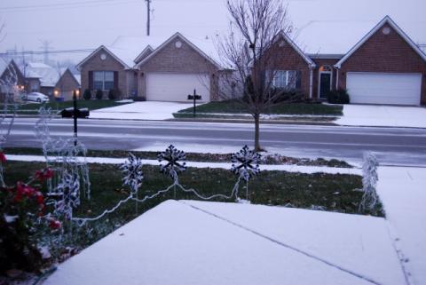 2009年12月5日初雪