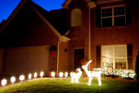 2009年のクリスマスデコレーション