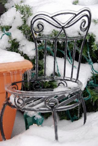 12月16日凍った凍った!
