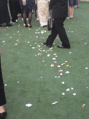結婚式はなびら