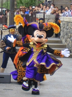 Disney Sea マウスカレード・ダンス02ミッキー