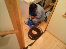 配水管清掃工事
