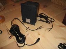 PC用スピーカーのケーブル加工