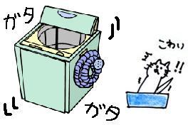 洗濯機トイレ