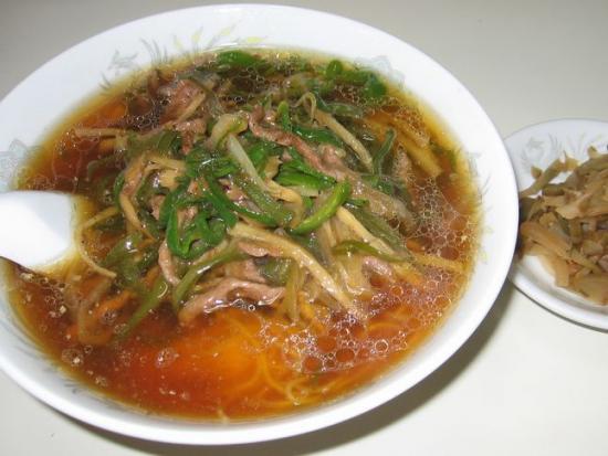 チンジャオロース麺
