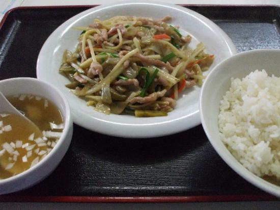 ザーサイと豚肉炒め01