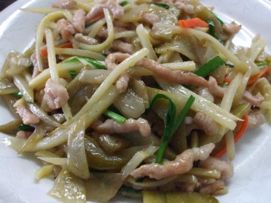 ザーサイと豚肉炒め02