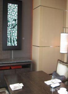 センス マンダリンホテル個室