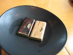 マンダリン ケシキ デザート チョコ