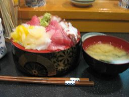 寿司富 三色丼
