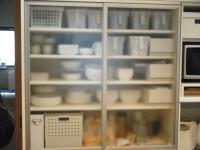 食器棚大掃除 1