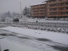 雪-ホテル-