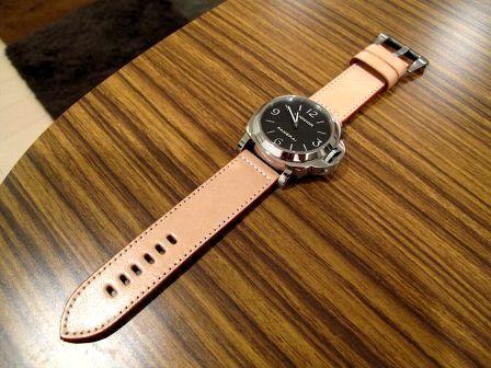 レザークラフトで時計のベルトを作りたい -レザー …