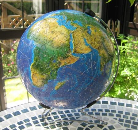 BLUE EARTH 完成!