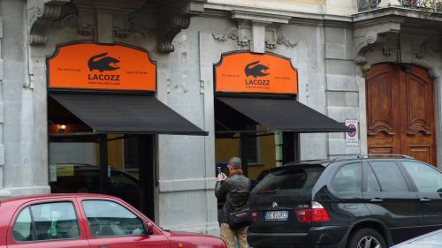 ミラノのカフェ