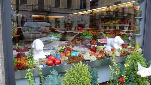 ミラノの果物屋