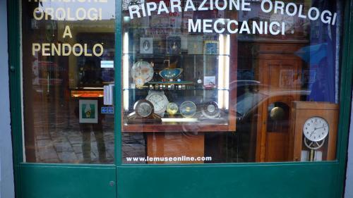 ミラノの時計屋
