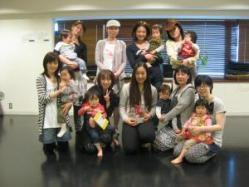 4月26日ママ&リトルキッズクラス たみ先生、いってらっしゃい!!