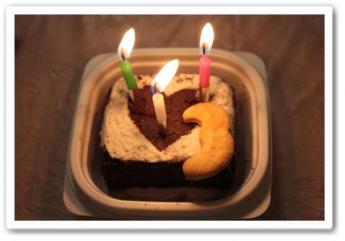 3歳誕生日4