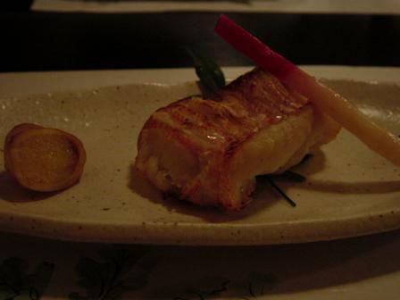 万作_赤魚の粕漬け
