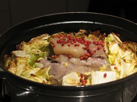 塩豚と白菜のロースト