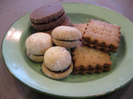 クッキー3種類出来上がり