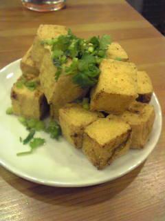 スパイシー揚げ豆腐