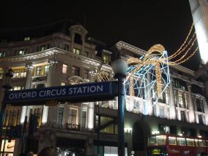 xmas oxford circus