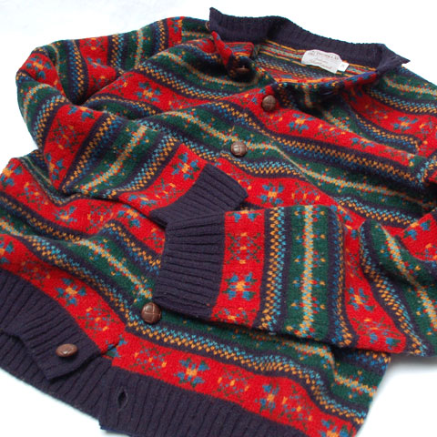 INVERALLAN AUTHENTIC SHETLAND CARDIGAN
