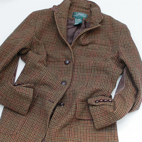 LAUREN 3B TWEED JACKET