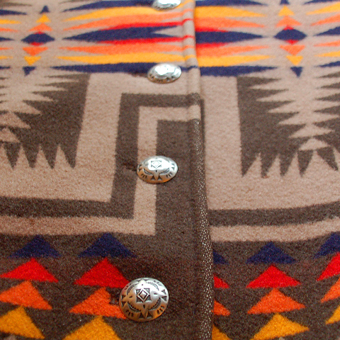 PENDLETON BLANKET JACKT BOTTON