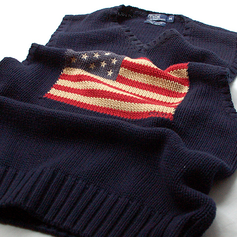 Polo Ralph Lauren COTTON KNIT VEST