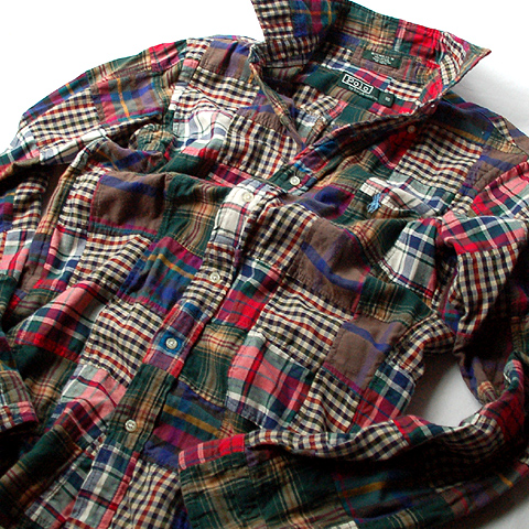 Polo Ralph Lauren PATCHWORK BD SHIRT