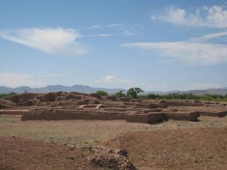 パキメ遺跡全景