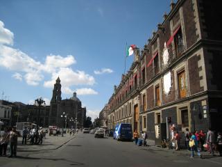 旧市街の街並み