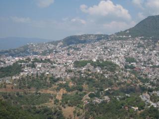 タスコの景色