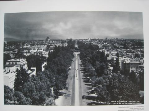 百年前のレフォルマ通り東側